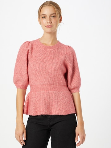 VERO MODA Пуловер 'METTE' в розово