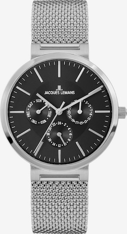 Jacques Lemans Analog Watch 'Milano' in Silver