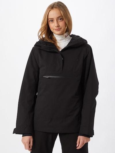 OAKLEY Outdoorjas in de kleur Zwart: Vooraanzicht