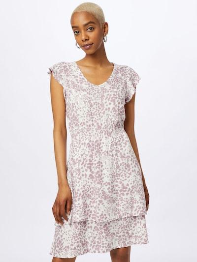 Sublevel Letnia sukienka w kolorze stary róż / białym, Podgląd na modelu(-ce)