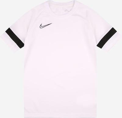 Tricou funcțional 'Academy' NIKE pe negru / alb, Vizualizare produs