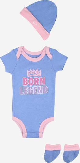 Nike Sportswear Set 'BORN LEGEND' in royalblau / rosa, Produktansicht