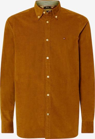 TOMMY HILFIGER Langarmhemd in cognac, Produktansicht