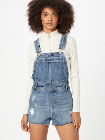 Pimkie Tuinbroek jeans 'SMILY' in Blauw