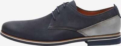 Van Lier Chaussure à lacets en bleu / argent, Vue avec produit