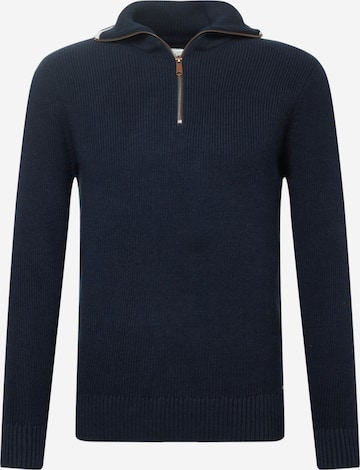 TOM TAILOR Sweater in Blue
