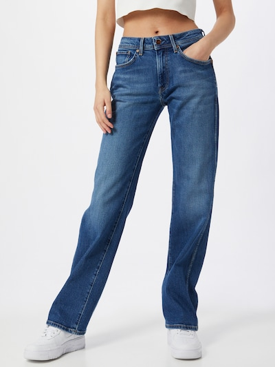 Pepe Jeans Jeans 'NEW OLYMPIA' in Blue denim, View model