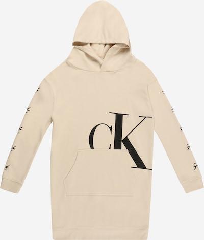 Calvin Klein Jeans Kleid in beige / schwarz, Produktansicht