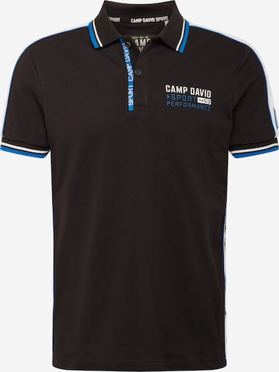 CAMP DAVID Shirt in Blue / Black / White, Item view