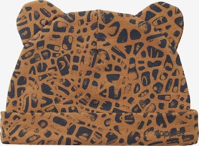 Noppies Mütze 'Tremezzo' in braun / schwarz, Produktansicht