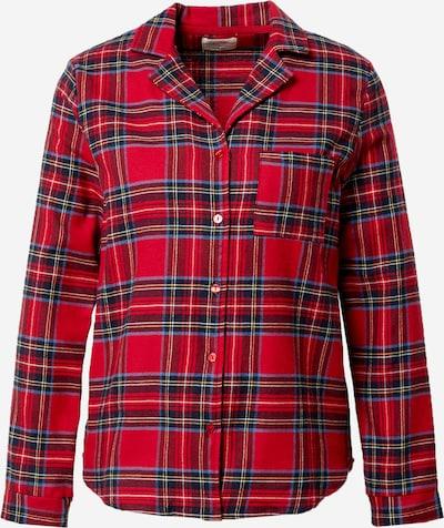 ETAM Pidžamas krekls 'ODILE' sarkans / melns, Preces skats