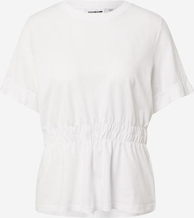 Noisy may T-shirt 'PALMER' en blanc, Vue avec produit