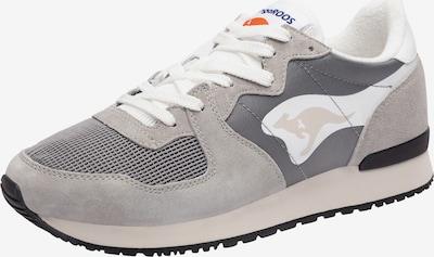 KangaROOS Sneaker 'Aussie' in grau / hellgrau / schwarz / weiß, Produktansicht