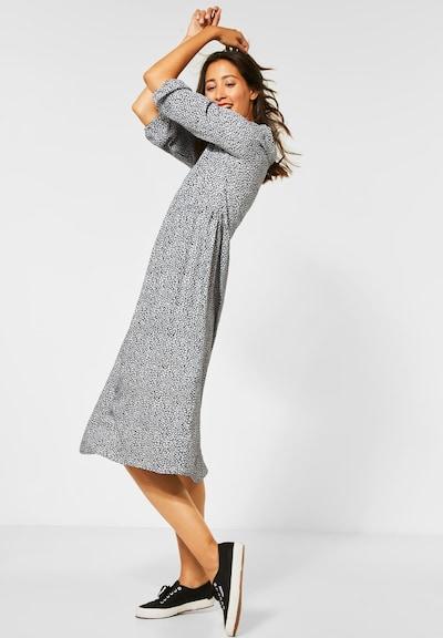 STREET ONE Kleid in grau / schwarz, Modelansicht