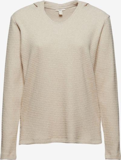 EDC BY ESPRIT Sweatshirt in beige / hellbeige, Produktansicht