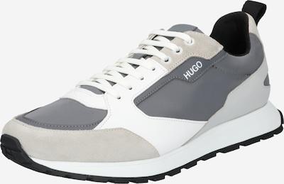 HUGO Sneaker 'Icelin' in grey denim / hellgrau / weiß, Produktansicht