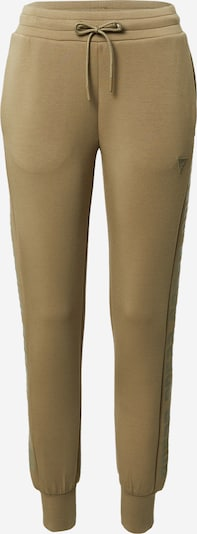 GUESS Pantalon de sport en kaki, Vue avec produit