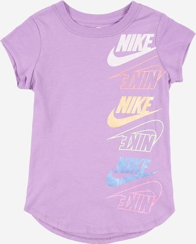 Nike Sportswear Majica u nebesko plava / ljubičasta / losos / svijetlonarančasta / bijela, Pregled proizvoda