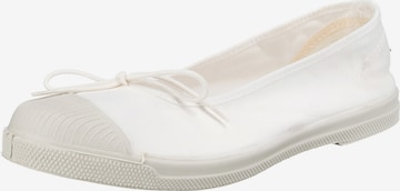 natural world Ballet Flats in White