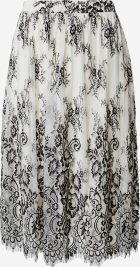 VILA Kjol 'Hania' i grå / svart / vit, Produktvy