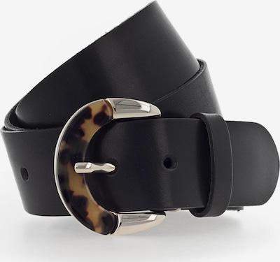 b.belt Handmade in Germany Gürtel 'Carmen' in schwarz, Produktansicht
