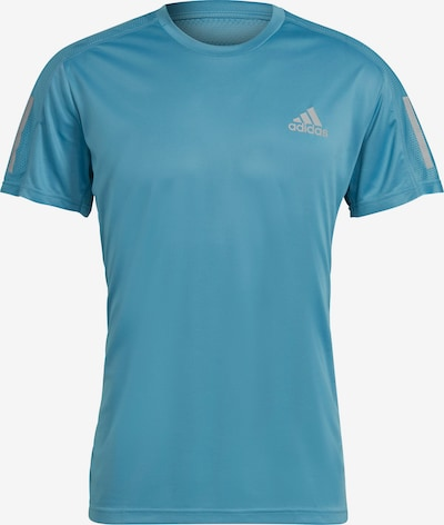 ADIDAS PERFORMANCE T-Shirt fonctionnel 'Own the Run' en bleu ciel, Vue avec produit