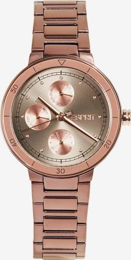 ESPRIT Analoog horloge in de kleur Brons, Productweergave