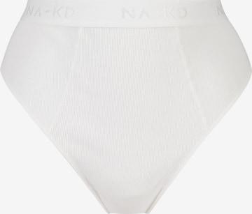 hunkemöller x NA-KD String 'Casia' in Weiß