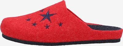 COSMOS COMFORT Hausschuh in navy / rot, Produktansicht