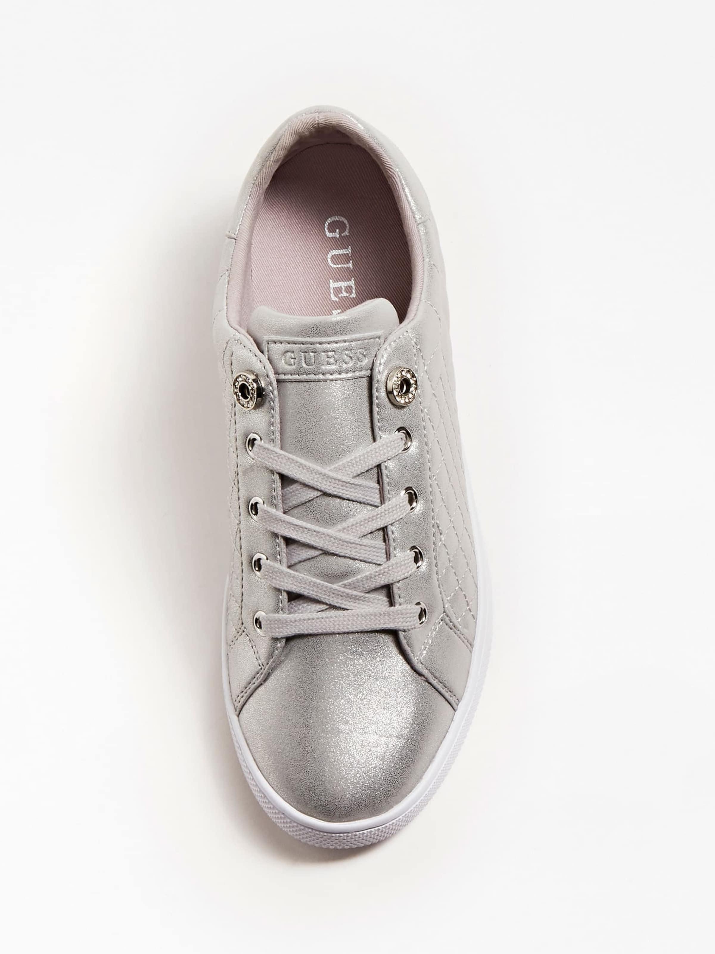 GUESS Sneaker in silber