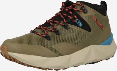 Pantofi 'FACET 60' COLUMBIA pe azuriu / oliv / portocaliu închis / negru, Vizualizare produs