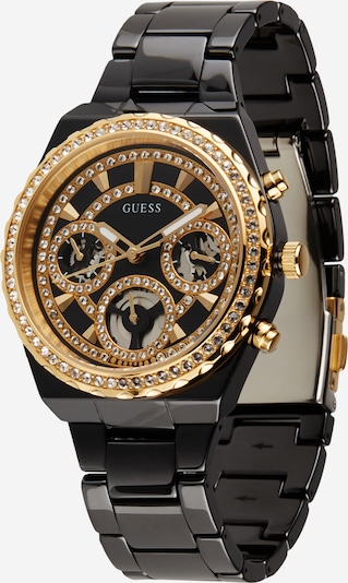 GUESS Analog Watch in Gold / Black, Item view