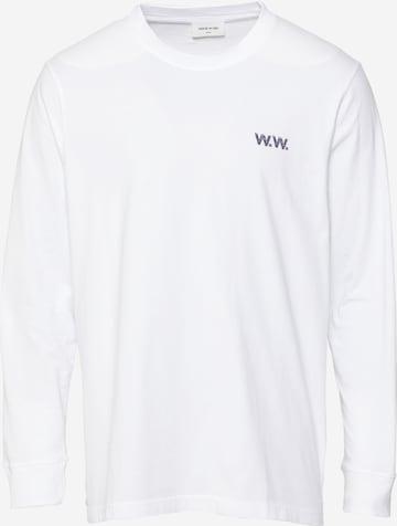 T-Shirt 'Mark Jon Pilkington' WOOD WOOD en blanc