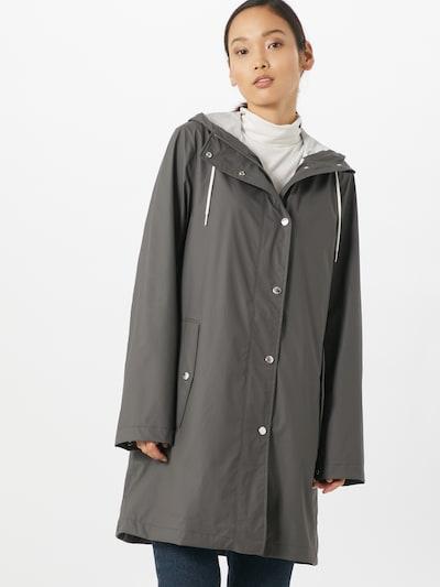 Samsoe Samsoe Between-seasons coat 'Stala' in Stone, View model