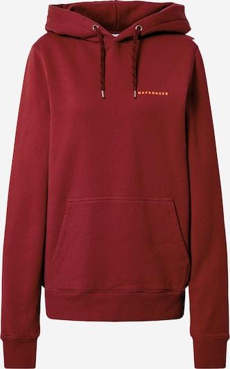 Hafendieb Sweatshirt 'Elbe' in de kleur Sinaasappel / Wijnrood, Productweergave