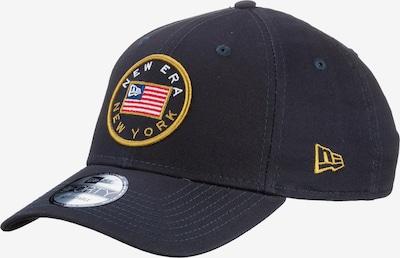 NEW ERA Cap '9Forty' in nachtblau / himmelblau / goldgelb / grenadine / weiß, Produktansicht