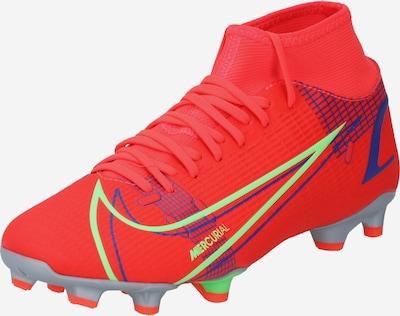 NIKE Fodboldstøvler 'Mercurial 8 Academy MG' i blå / gul / orangerød, Produktvisning