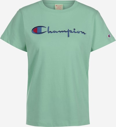 Champion Authentic Athletic Apparel T-Shirt in hellgrün: Frontalansicht