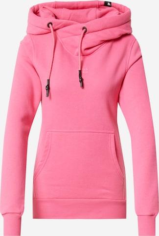 Alife and Kickin Sweatshirt 'Sarah' in Pink