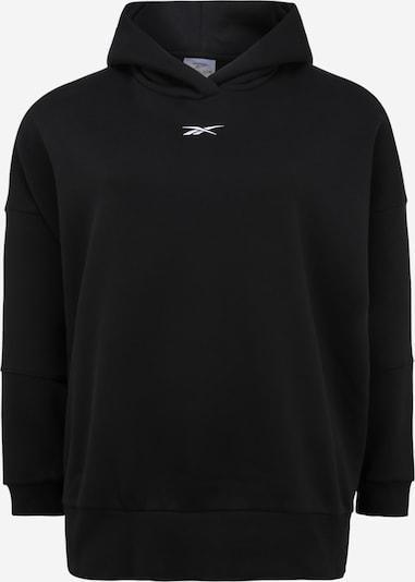 REEBOK Sportsweatshirt in schwarz / weiß, Produktansicht