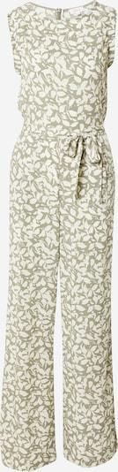 s.Oliver Jumpsuit in oliv / weiß, Produktansicht