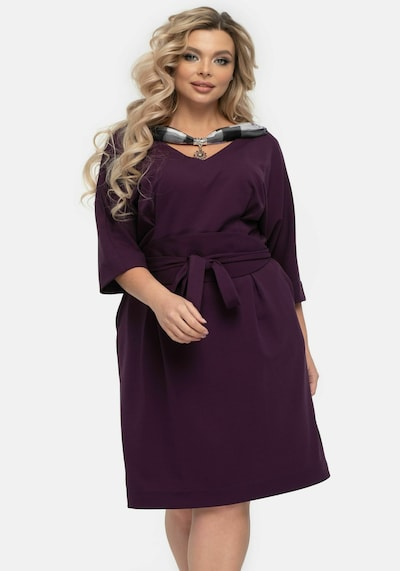 Wisell Kleid in cyclam, Modelansicht