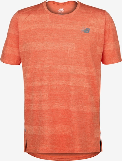 new balance Q Speed Trainingsshirt Herren in orange, Produktansicht