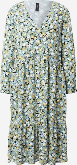 Y.A.S Kleid  'STASIA' in hellblau / dunkelblau / gelb / weiß, Produktansicht