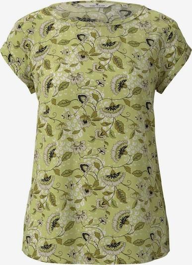 TOM TAILOR Bluse in grau / grün / schwarz, Produktansicht