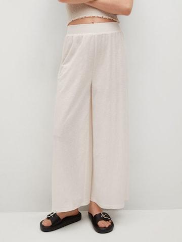 MANGO Hose 'TAMARA' in Weiß