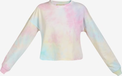MYMO Shirt in mischfarben / weiß: Frontalansicht