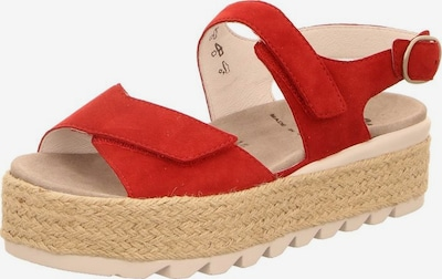 SEMLER Sandalen in rot, Produktansicht