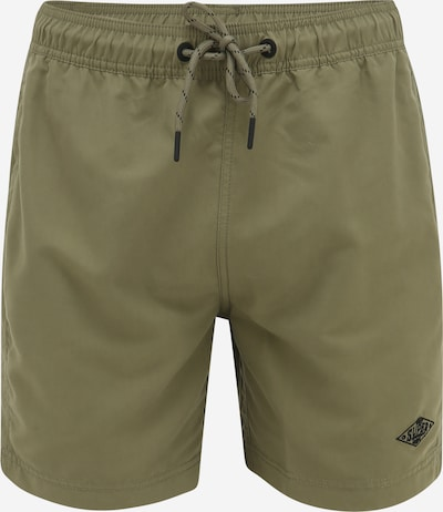 Superdry Shorts de bain 'VENICE' en kaki / noir, Vue avec produit