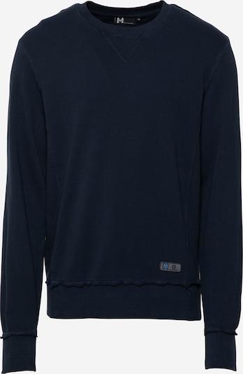Hailys Men Sweat-shirt 'Joshua' en bleu marine, Vue avec produit
